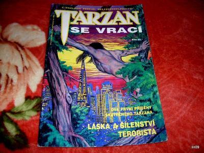 E.R.BUROUGHS--TARZAN SE VRACÍ--KOMIKS--1992--INFO