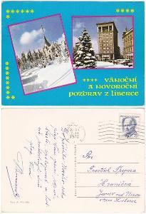 Vánoční pozdrav z Liberce