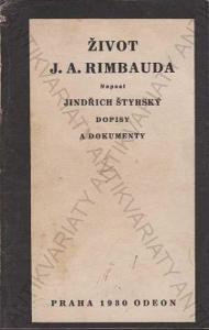 Život J. A. Rimbauda Jindřich Štyrský Odeon