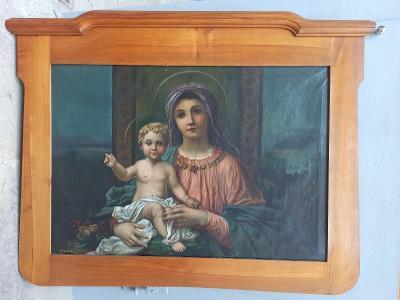 Obraz Panny Marie s Ježíškem