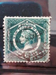 Britské/Anglické kolonie New South Wales-raženo(A210)