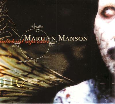 MARILYN MANSON - Antichrist Superstar - CD 1996 metal