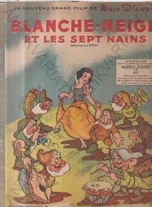 Blanche-neige et les sept nains frank Churchill