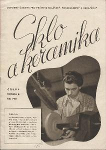 Sklo a keramika (časopis 1946)
