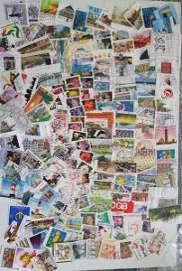 Každá jiná - poštovní známky Německa (Deutschland) 171ks