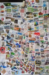 Každá jiná - poštovní známky Německa (Deutschland) 285ks