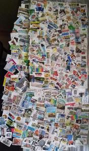 Každá jiná - poštovní známky Německa (Deutschland) 409ks