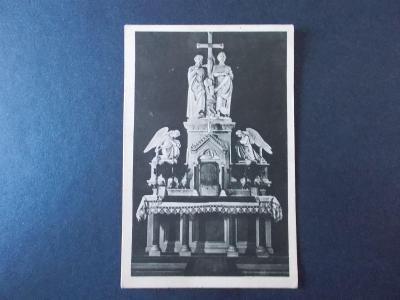 Vsetín Rožnov Radhošť Beskydy Pustevně kaple Cyril a Metoděj oltář
