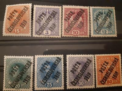 ČSR I. */** - Výplatné 1916-1918
