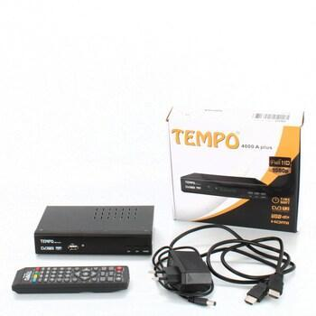 DVB-T2 přijímač hd-line Tempo 4000 A
