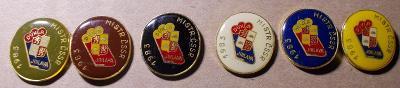 odznaky hokej Dukla Jihlava Mistr 1983