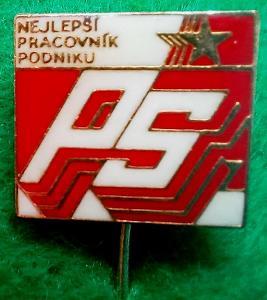 odznak Nejlepší pracovník podniku PS