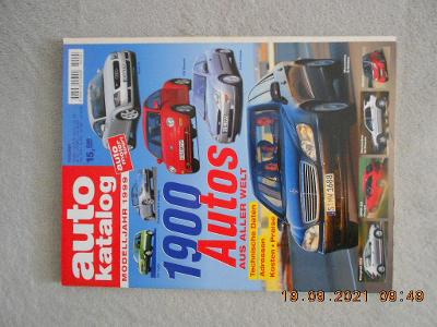 Autokatalog 1999