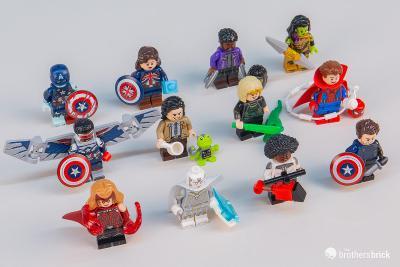 Originální LEGO 71031 Studio Marvel