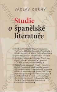 Studie o španělské literatuře Václav Černý Cherm