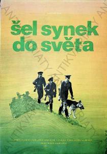 Šel synek do světa Dimitrij Kadrnožka film plakát