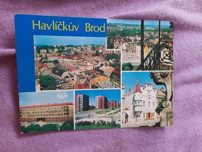 Pohlednice Havlíčkův Brod,neprošlé poštou