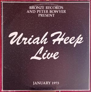Uriah Heep – Uriah Heep Live (LP 1993 Russia)