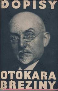 Dopisy Otokara Březiny Františku Bauerovi 1929