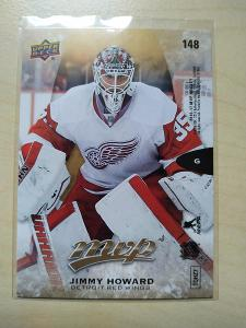 Jimmy Howard UD MVP 2016-17 č. 148 puzzle Detroit Red Wings