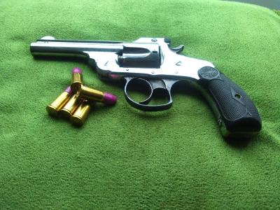 Historický revolver Smith-Wesson cal.38CF DA 1886 Hezký pův. stav