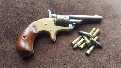 Historický revolver Colt Open Top cal.22RFLong 1871 Nádherný pův. stav
