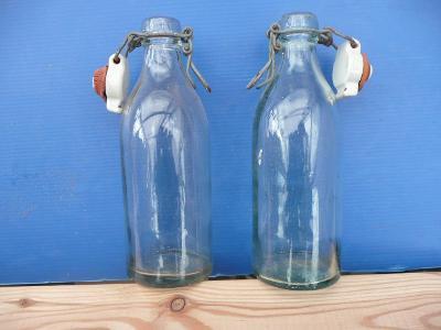 Staré lahve sodovka