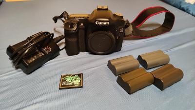 Canon 50D tělo včetně kompletního příslušenství
