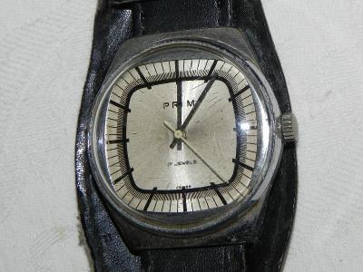 Staré hodinky PRIM televize