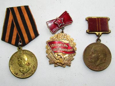 Staré medaile SSSR