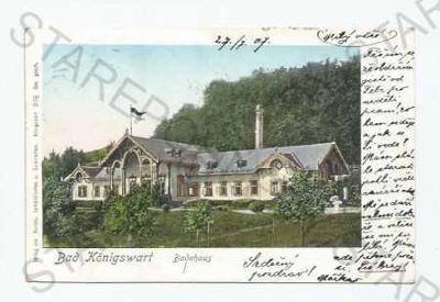 Lázně Kynžvart Cheb lázeňský dům  DA
