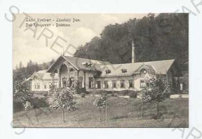 Lázně Kynžvart Cheb lázeňský dům