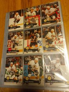 Kompletní set karet Proset 91/92 série 1 (345 karet)