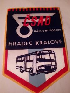 Stará vlaječka ČSAD Hradec Králové