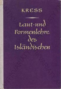 Laut-und Formenlehre des Isländischen islandština