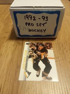Kompletní set karet Proset 92/93 (270 karet)
