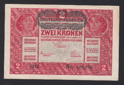 RAKOUSKO 2 Kronen 1917/1919 P.50