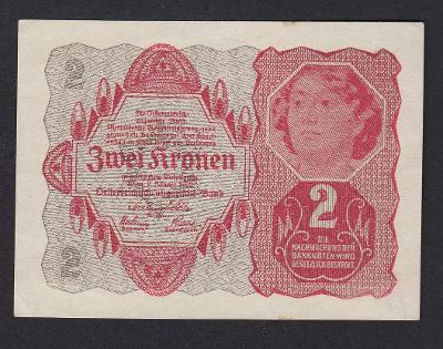 RAKOUSKO 2 Kronen 1922 P.74 UNC