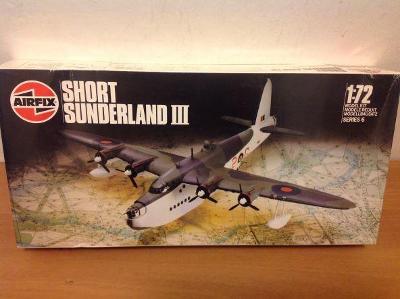 AIRFIX - Short Sunderland III, 1/72