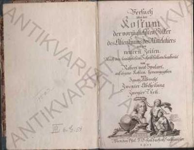 Versuch über das Kostum 1801 Robert von Spalart