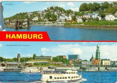 Německo, Hamburg, 8 ks,