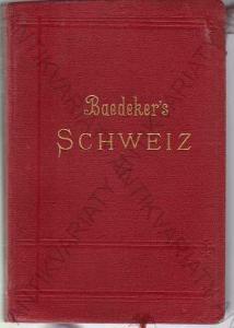 Baedekers - Die Schweiz Karl Baedeker 1907