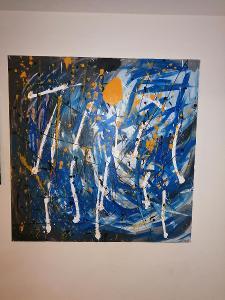 Obraz Pocity abstrakce velký formát 100x100