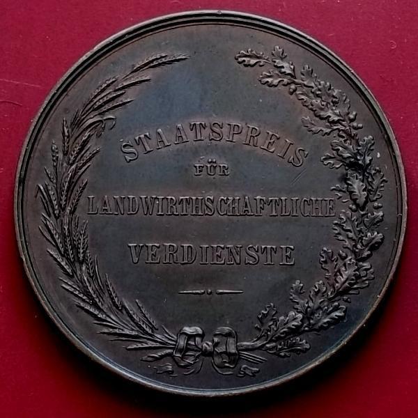 stará medaile František Josef I_Za Zásluhy Císařství Rakousko-Uhersko - Numismatika