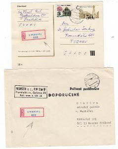 R nálepky Pardubice 5 obrácený tisk na pozici 432, 532