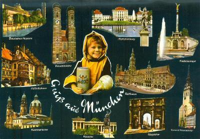Německo, Mnichov, 8 ks,