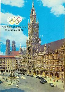 Německo, Mnichov - olympijský, 4 ks,