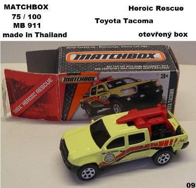 model Matchbox 911