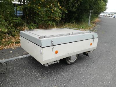přívěsné vozidlo - stanový přívěs camptourist