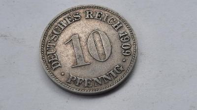 10 Pfennig 1909 D
